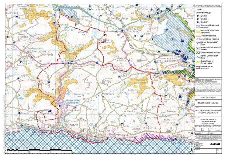 DNP Map - Environmental Constraints