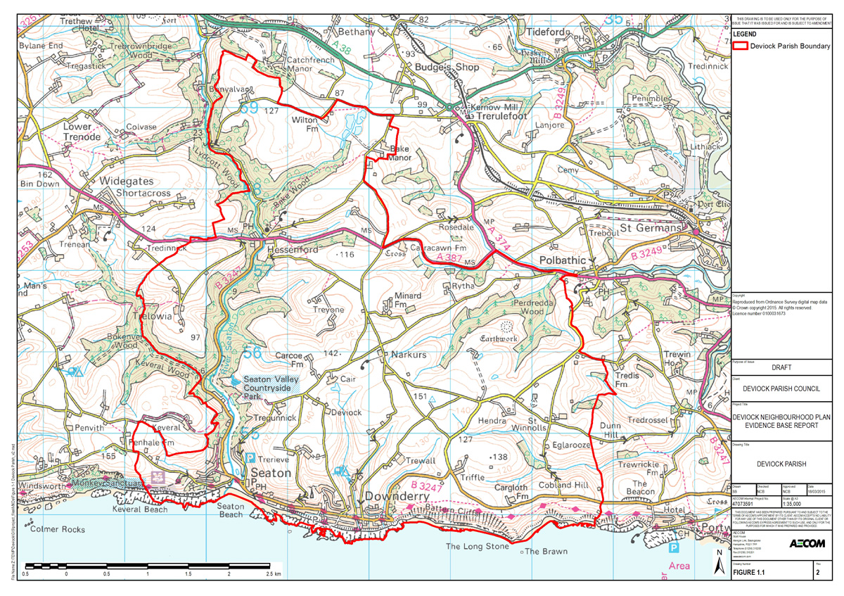 DNP Map - Parish Boundary